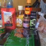 Набор продуктов для суши