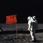 Мы первые люди на луне!