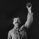 Фото Сталина с аЙфоном