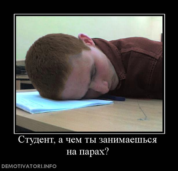 Студенты не устраивают меня, а студентов не устраивает.....?