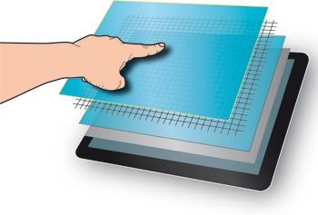 Как устроен сенсорный дисплей?